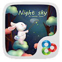 Night sky GO Launcher Theme icon