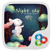Night sky GO Launcher Theme