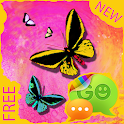 Theme Butterfly for GO SMS icon