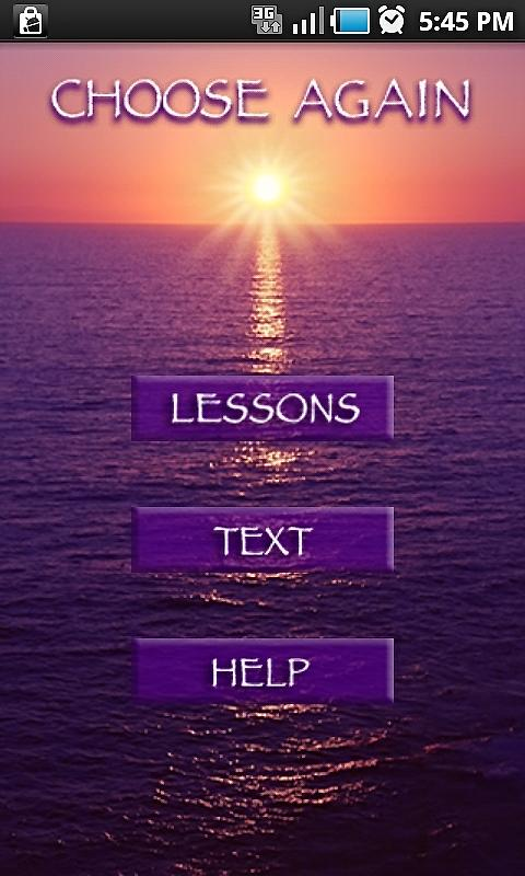 ACIM Text & Lessons - screenshot