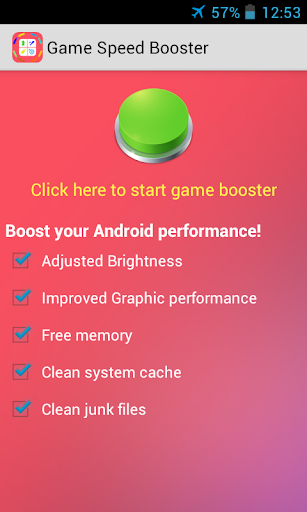 Game Speed Booster