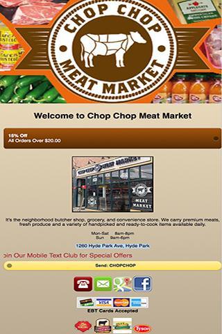 Chop Chop Meat Market
