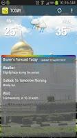Screenshot of Brunei WX