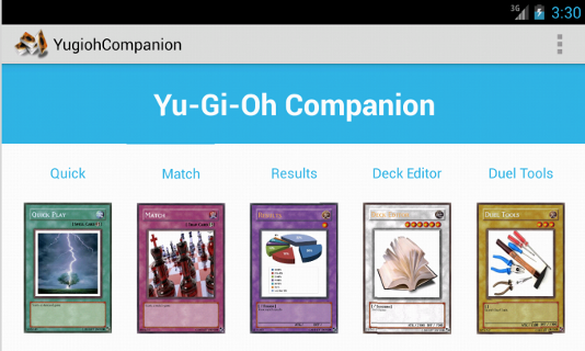 Yugioh Companion - screenshot