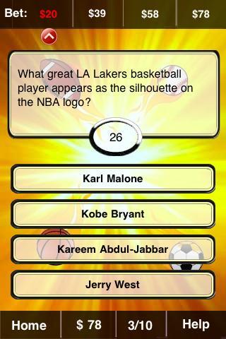 Sports FunBlast Trivia Quiz - screenshot