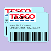 Tesco Clubcard Widget.