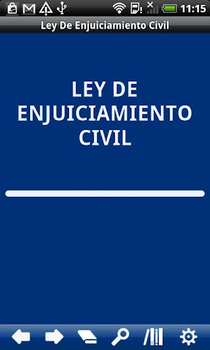 Spanish Civil Procedure Law