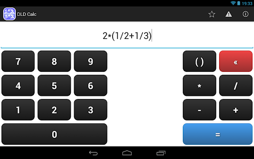 DLD Calc - Math Calculator- screenshot thumbnail