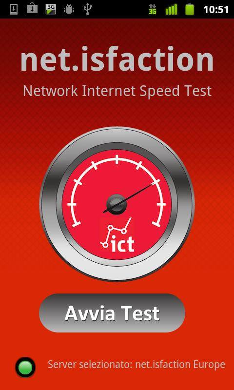net.isfaction Net Speed Test - screenshot