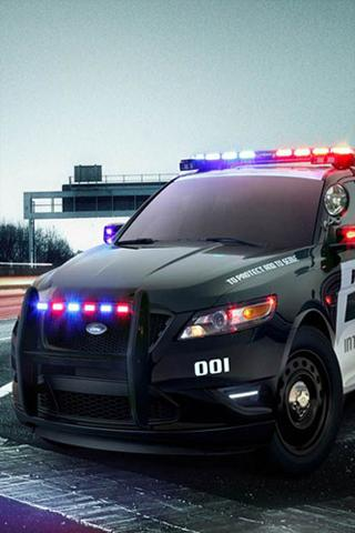 Police car ringtones - screenshot