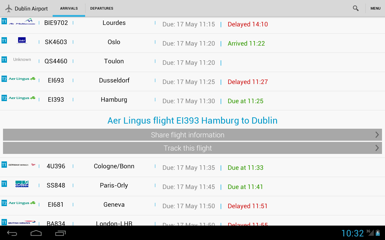 Flight Check Ireland - screenshot
