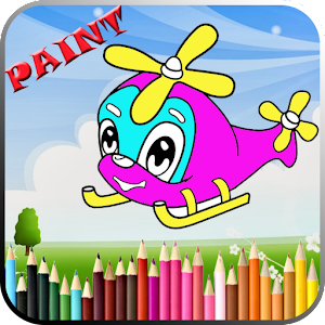 Go more links apk Airplane Coloring Book For Kid  for HTC one M9