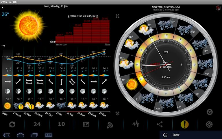 Screenshots for eWeatherHD NOAA Radar Alerts