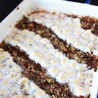 Crowd Pleasing Sweet Potato Casserole