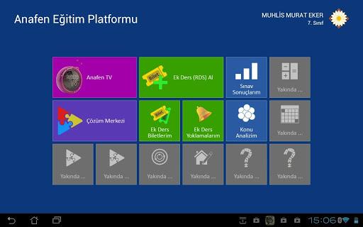 Anafen Eğitim Platformu