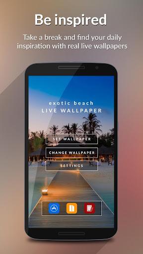 Exotic Beach HD Live Wallpaper