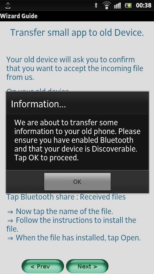 Droid Copy - screenshot
