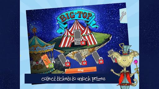 Zippepu2019s Astro Circus HD zippep screenshots 2