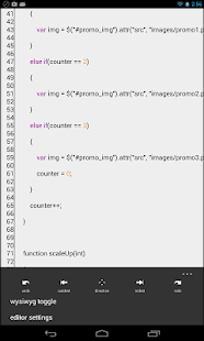 Spark Lite - HTML Editor/FTP- screenshot thumbnail
