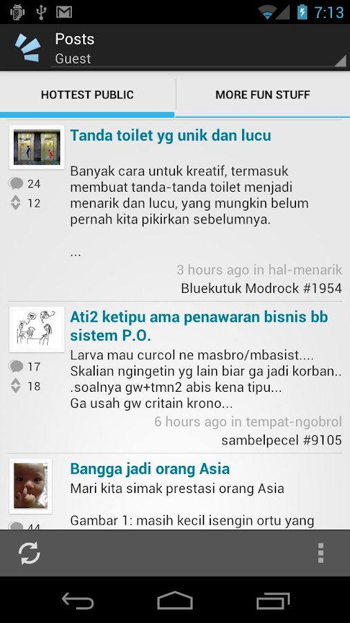 The Crowd Voice - Indonesia - screenshot