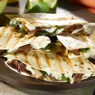 Steak & Poblano Quesadillas Recipe