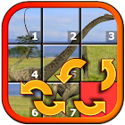 Dinosauro Slide Puzzle icon