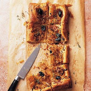 Caramelized Onion Tart with Olives