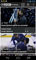 Screenshot of RTS Sport