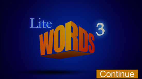 Words Cubed Lite - screenshot thumbnail