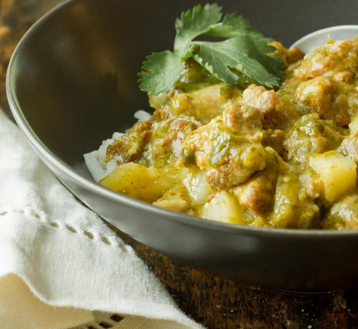 Pork & Green Chile Stew (Chile Verde) Recipe