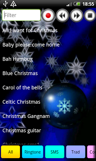 2015 Christmas Ringtone Sounds