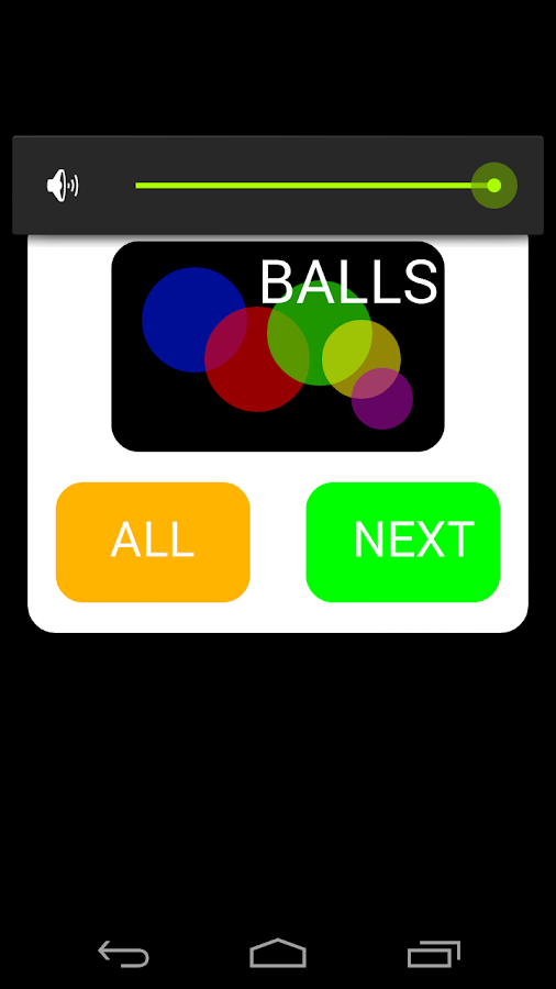 Balls- screenshot
