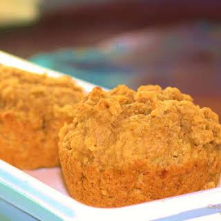 Mighty Moist Peanut Butter Banana Muffins.