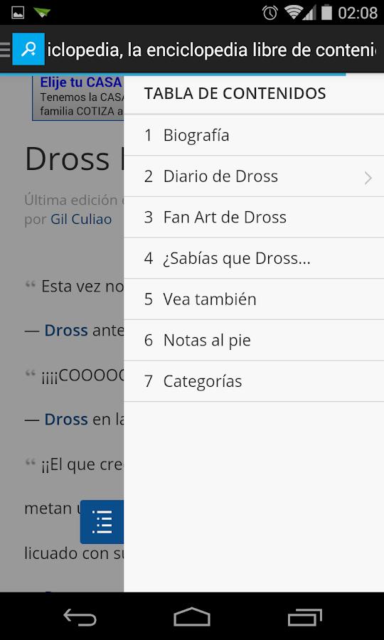 Dross ~El Diario Móvil Oficial - screenshot