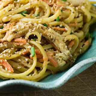 Chicken and Sesame Noodles.