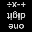 Reverse one digit arithmetic icon