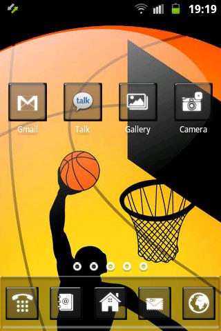 バスケットボールのテーマ