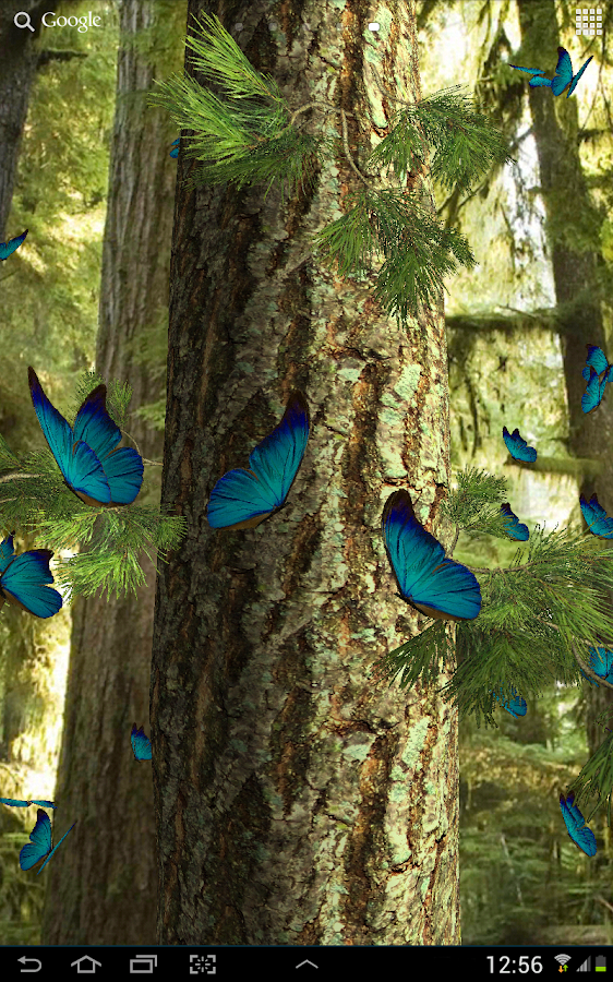 Butterflies 3D live wallpaper - Android Apps on Google Play