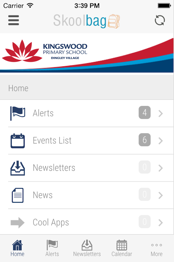 Kingswood Primary School- screenshot
