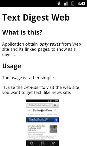TextDigestWeb 1.3 Windows u7528 1