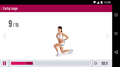 Runtastic Butt Trainer ヒップ筋トレ