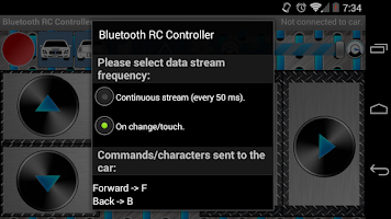 Screenshot of Arduino Bluetooth RC Car