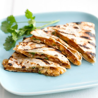 Grilled Barbeque Onion and Smoked Gouda Quesadillas Recipe