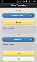 Screenshot of Voice Translator Pro