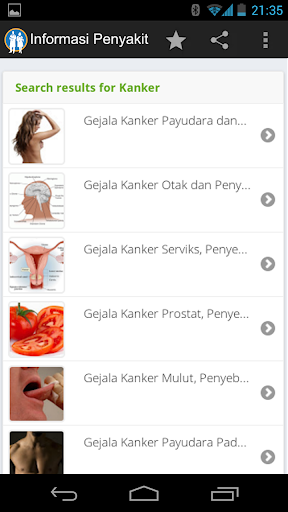 【免費健康App】Informasi Nama Penyakit-APP點子