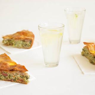 Greek Courgette & Spinach Pie