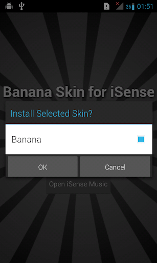 Banana Skin for iSense Music