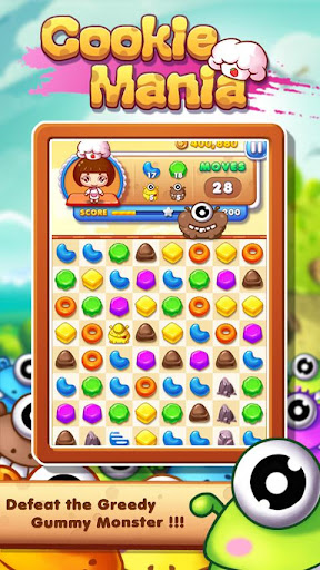 Cookie Mania - Match-3 Sweet Game 2.2.2 2