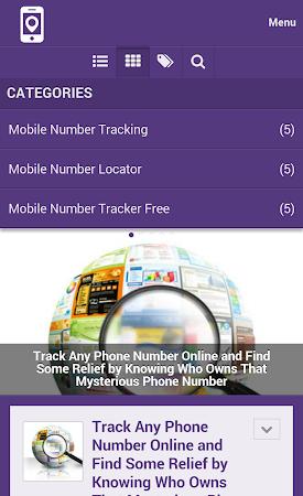 Mobile Number Tracker Tips 1.0 screenshot 9983
