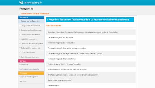 FR3 - Lelivrescolaire.fr
